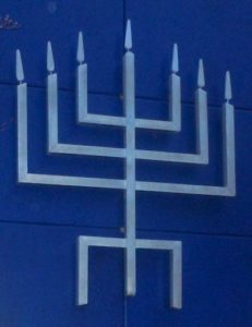 Back TBE Menorah