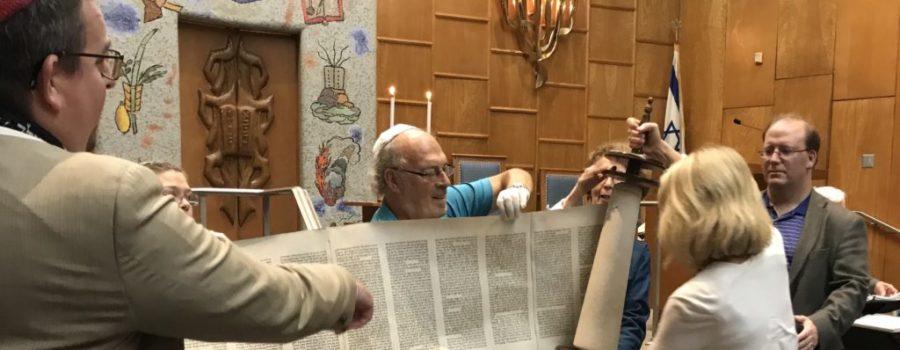 Rabbi Erin & Susan Baker Torah