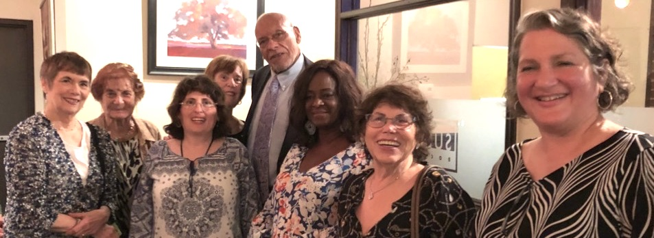 TBE Sisterhood's closing program was a treat for all. Held at Sullivan's in Rocky Hill, the group was delighted to hear stories of historic Knoxville by Robert Booker, freelance writer for the Knoxville News Sentinel and a local historian.